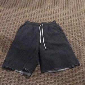 Under Armour grey shorts